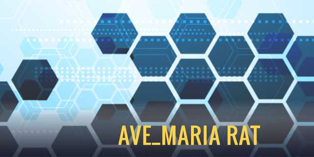 Ave_Maria Malware: there's more than meets the eye