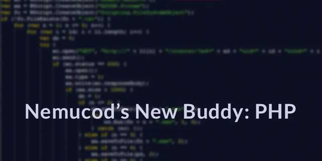 Nemucod meets a new buddy: PHP