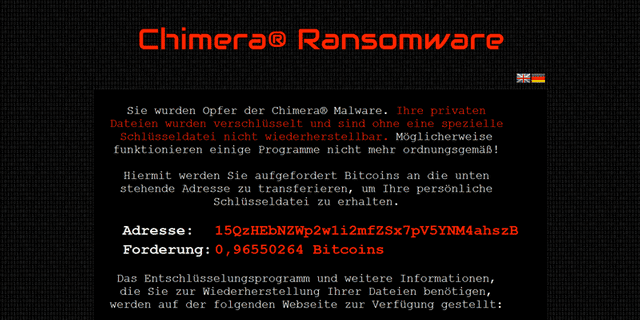Diving into Chimera Ransomware